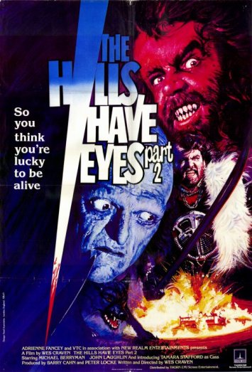 Image result for the hills have eyes 2 1984