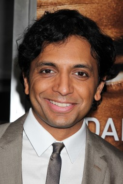 """New York, NY - May 29, 2013: Director M Night Shyamalan at the US Premiere of """"AFTER EARTH"""" sponsored in part by Mercedes-Benz at the Ziegfeld Theatre."""