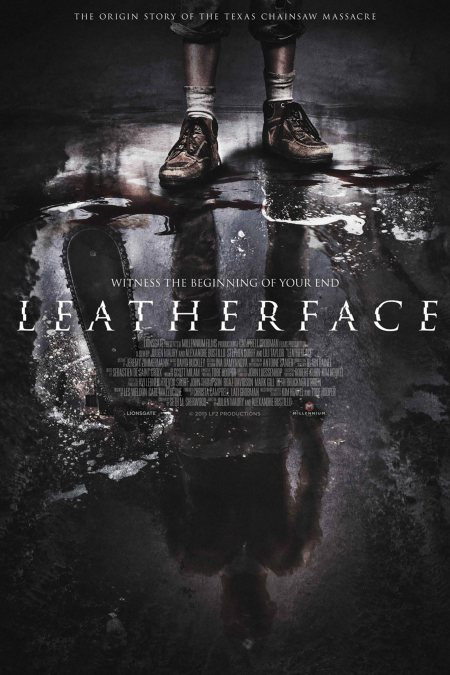 Leatherface Movie Poster CR: Millennium Films.