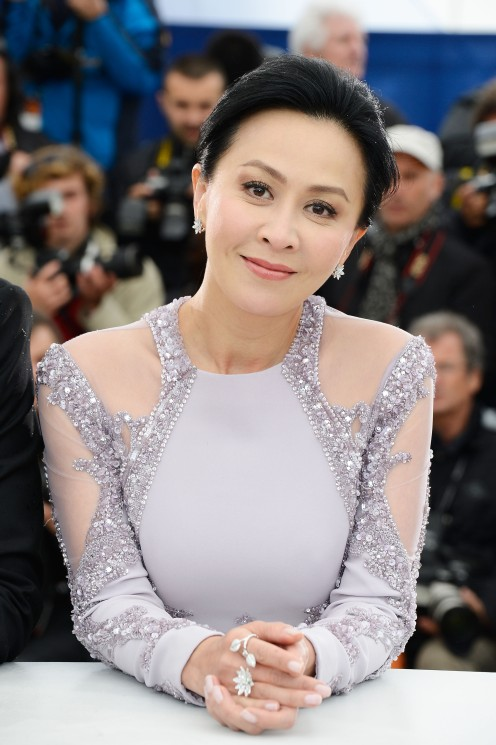 CANNES, FRANCE - MAY 18: Actress Carina Lau attends 'Bends' Photocall during the 66th Annual Cannes Film Festival at Palais des Festivals on May 18, 2013 in Cannes, France. (Photo by Pascal Le Segretain/Getty Images)