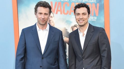 Mandatory Credit: Photo by Rob Latour/REX/Shutterstock (4915525aw) Jonathan M. Goldstein and John Francis Daley 'Vacation' film premiere, Los Angeles, America - 27 Jul 2015