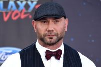Mandatory Credit: Photo by Jim Smeal/REX/Shutterstock (8619070c) Dave Bautista 'Guardians of the Galaxy Vol. 2' film premiere, Arrivals, Los Angeles, USA - 19 Apr 2017