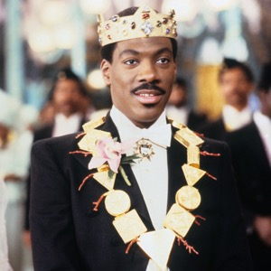 COMING TO AMERICA, Eddie Murphy, 1988