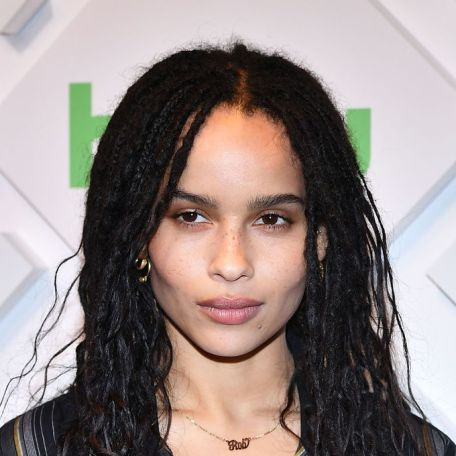 NEW YORK, NY - MAY 01: Actress Zoe Kravitz attends 2019 Hulu Upfront at Scarpetta on May 1, 2019 in New York City. (Photo by Slaven Vlasic/Getty Images)