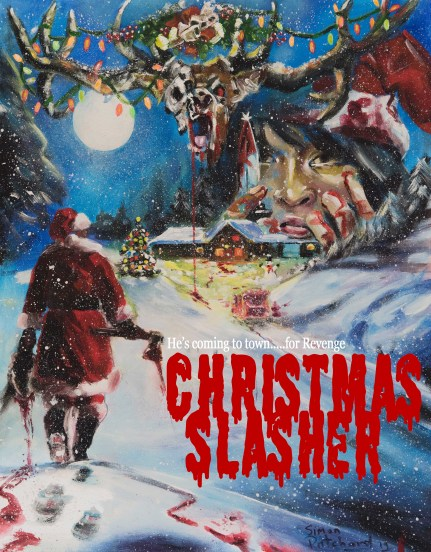 christmas slasher poster PRINT OUT